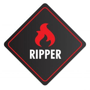 Ripper is the hottest of our chilli sauces. One of it's ingredients is the World's Hottest Chilli - the Carolina Reaper. Try it if you dare!